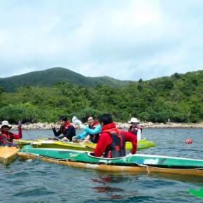 獨木舟海岸探索 Kayaking